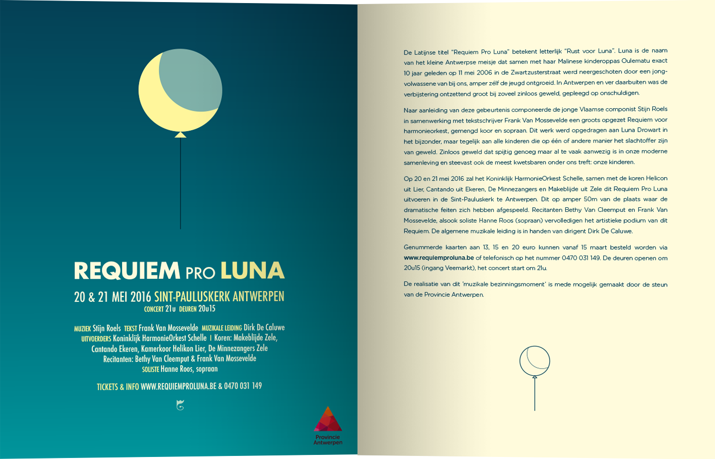 Advertentie Requiem Pro Luna